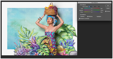 balancing colors using photoshop tutorial