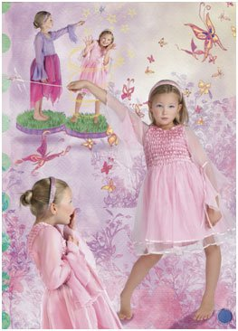 image masking for fairy kids photo
