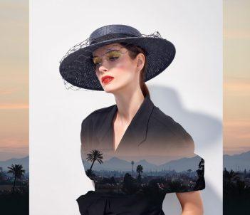 misa harada spring hat fashion editing