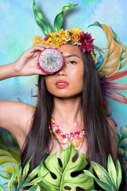 tropical portrait philippines photo editing